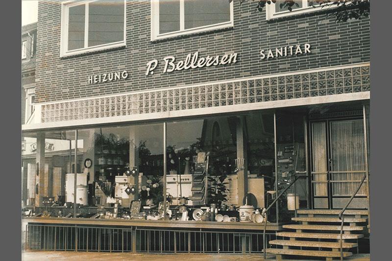 Geschäft P. Bellersen Heizung und Sanitär